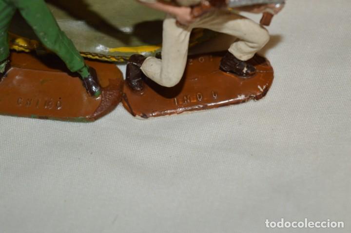 Figuras de Goma y PVC: 3 SOLDADOS VARIADOS y ZODIAC / De COMANSI / NOVOLINEA - Antiguos - Plástico / PVC ¡Mira fotos! - Foto 12 - 194288560