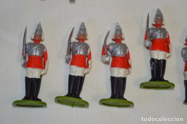 Figuras de Goma y PVC: 14 SOLDADOS VARIADOS y CABALLOS / De FOR BRITAINS LTD. - Antiguos - Plástico / PVC ¡Mira fotos! - Foto 4 - 194291180