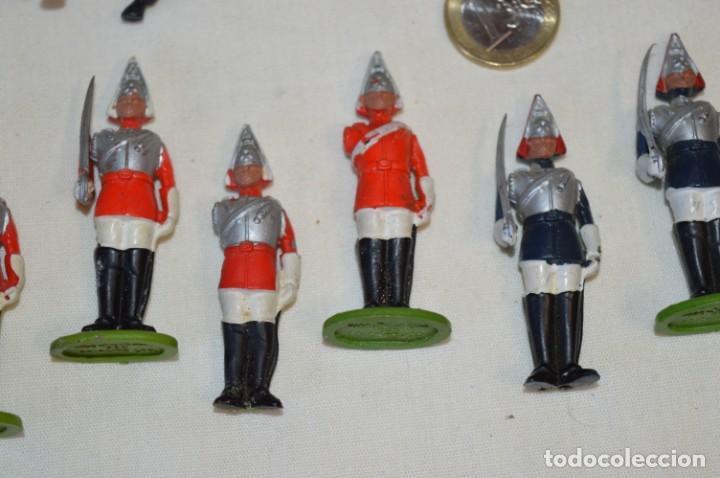 Figuras de Goma y PVC: 14 SOLDADOS VARIADOS y CABALLOS / De FOR BRITAINS LTD. - Antiguos - Plástico / PVC ¡Mira fotos! - Foto 5 - 194291180