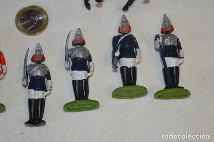 Figuras de Goma y PVC: 14 SOLDADOS VARIADOS y CABALLOS / De FOR BRITAINS LTD. - Antiguos - Plástico / PVC ¡Mira fotos! - Foto 6 - 194291180