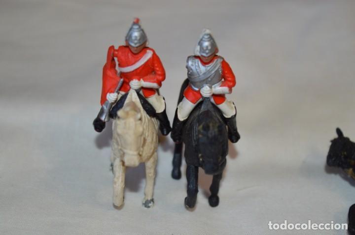 Figuras de Goma y PVC: 14 SOLDADOS VARIADOS y CABALLOS / De FOR BRITAINS LTD. - Antiguos - Plástico / PVC ¡Mira fotos! - Foto 8 - 194291180