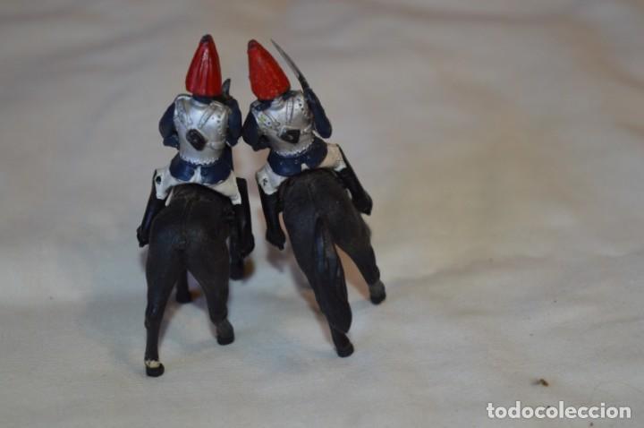 Figuras de Goma y PVC: 14 SOLDADOS VARIADOS y CABALLOS / De FOR BRITAINS LTD. - Antiguos - Plástico / PVC ¡Mira fotos! - Foto 11 - 194291180