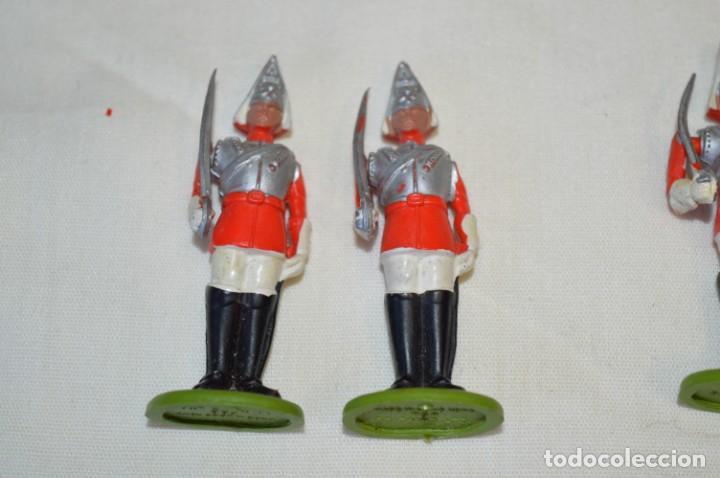Figuras de Goma y PVC: 14 SOLDADOS VARIADOS y CABALLOS / De FOR BRITAINS LTD. - Antiguos - Plástico / PVC ¡Mira fotos! - Foto 12 - 194291180