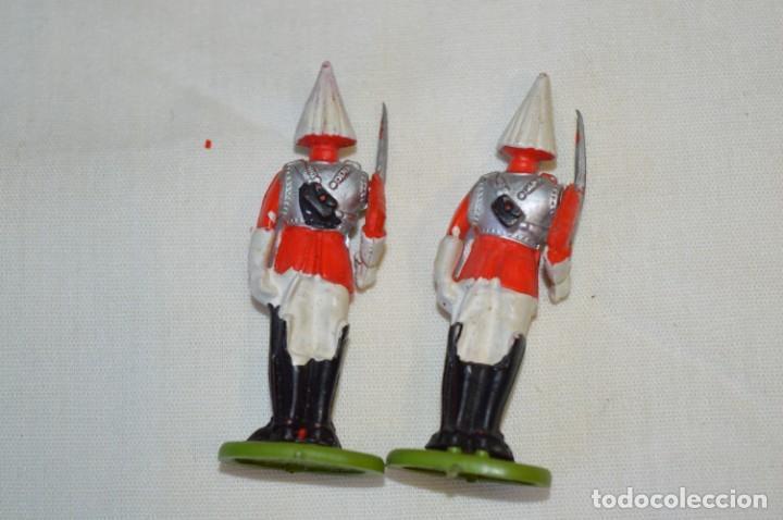 Figuras de Goma y PVC: 14 SOLDADOS VARIADOS y CABALLOS / De FOR BRITAINS LTD. - Antiguos - Plástico / PVC ¡Mira fotos! - Foto 13 - 194291180