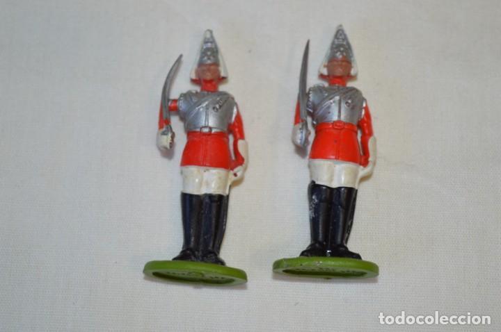 Figuras de Goma y PVC: 14 SOLDADOS VARIADOS y CABALLOS / De FOR BRITAINS LTD. - Antiguos - Plástico / PVC ¡Mira fotos! - Foto 14 - 194291180