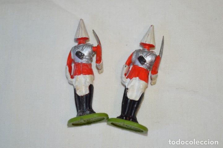 Figuras de Goma y PVC: 14 SOLDADOS VARIADOS y CABALLOS / De FOR BRITAINS LTD. - Antiguos - Plástico / PVC ¡Mira fotos! - Foto 15 - 194291180