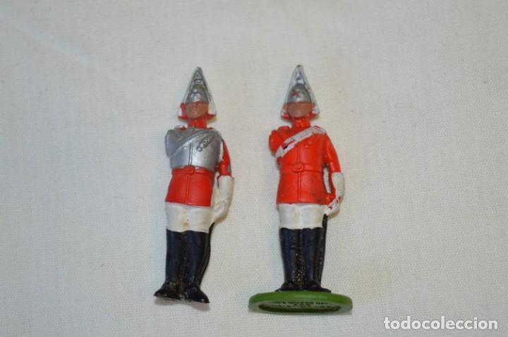 Figuras de Goma y PVC: 14 SOLDADOS VARIADOS y CABALLOS / De FOR BRITAINS LTD. - Antiguos - Plástico / PVC ¡Mira fotos! - Foto 16 - 194291180