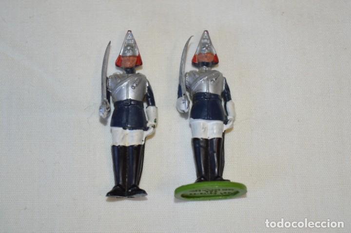Figuras de Goma y PVC: 14 SOLDADOS VARIADOS y CABALLOS / De FOR BRITAINS LTD. - Antiguos - Plástico / PVC ¡Mira fotos! - Foto 18 - 194291180