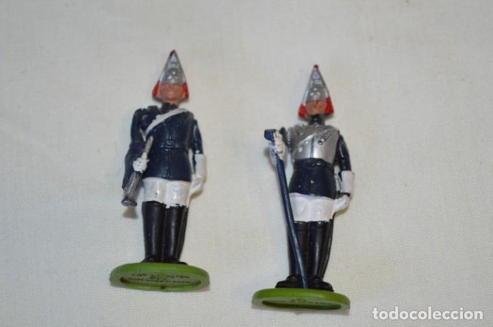 Figuras de Goma y PVC: 14 SOLDADOS VARIADOS y CABALLOS / De FOR BRITAINS LTD. - Antiguos - Plástico / PVC ¡Mira fotos! - Foto 20 - 194291180