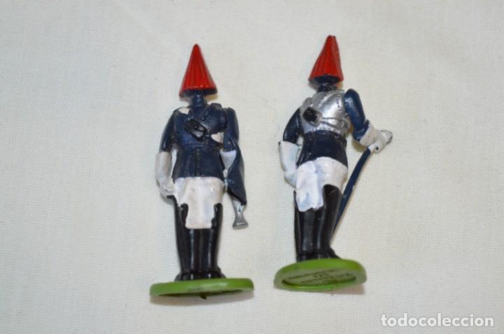 Figuras de Goma y PVC: 14 SOLDADOS VARIADOS y CABALLOS / De FOR BRITAINS LTD. - Antiguos - Plástico / PVC ¡Mira fotos! - Foto 21 - 194291180