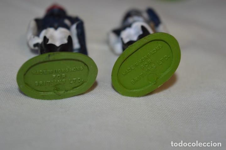 Figuras de Goma y PVC: 14 SOLDADOS VARIADOS y CABALLOS / De FOR BRITAINS LTD. - Antiguos - Plástico / PVC ¡Mira fotos! - Foto 22 - 194291180