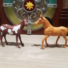 Figuras de Goma y PVC: FIGURAS PVC O GOMA DURA CABALLOS PÒPAK NEW RAY . Lote 194292317