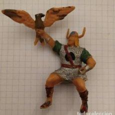 Figuras de Goma y PVC: FIGURA ESTEREOPLAST GUNDAR.VIKINGOS. Lote 194293722
