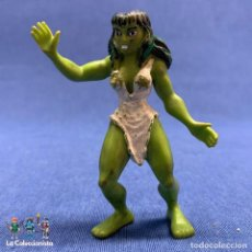 Figurines en Caoutchouc et PVC: FIGURA DE HULKA - COMICS SPAIN - AÑO 1984. Lote 194301846