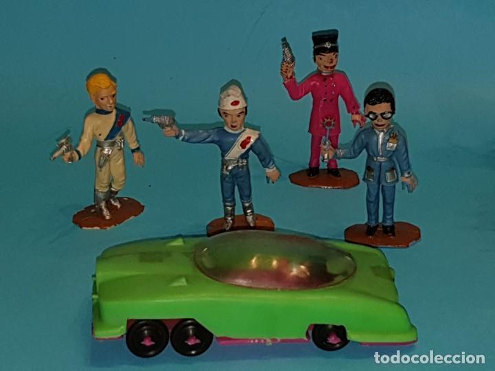 Figuras de Goma y PVC: Lote varias figuras de COMANSI, serie Thunderbirds, años 60. - Foto 2 - 194308681