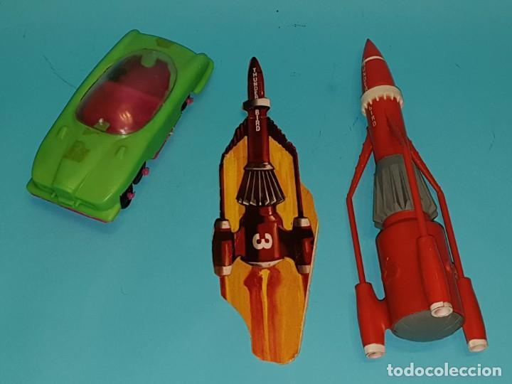 Figuras de Goma y PVC: Lote varias figuras de COMANSI, serie Thunderbirds, años 60. - Foto 4 - 194308681