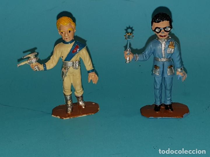 Figuras de Goma y PVC: Lote varias figuras de COMANSI, serie Thunderbirds, años 60. - Foto 5 - 194308681