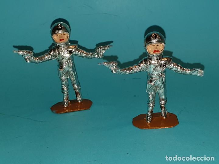 Figuras de Goma y PVC: Lote varias figuras de COMANSI, serie Thunderbirds, años 60. - Foto 6 - 194308681