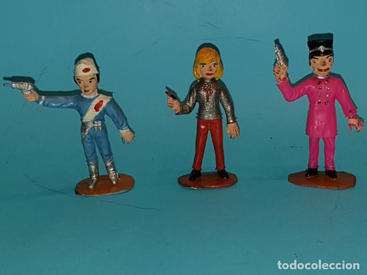 Figuras de Goma y PVC: Lote varias figuras de COMANSI, serie Thunderbirds, años 60. - Foto 7 - 194308681