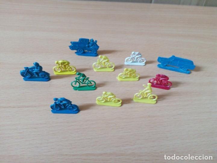 Figuras de Goma y PVC: LOTE 001 - GRUPO DE CICLISTAS DE PEQUEÑO TAMAÑO - Foto 3 - 194331100
