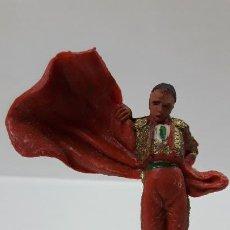 Figuras de Goma y PVC: TORERO . REALIZADO POR PECH . AÑOS 60. Lote 194331401