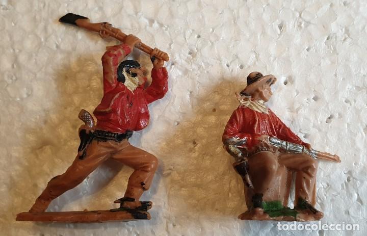 FIGURAS Nº 61 Y 67 OESTE REAMSA (Juguetes - Figuras de Goma y Pvc - Reamsa y Gomarsa)