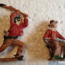 Figuras de Goma y PVC: FIGURAS Nº 61 Y 67 OESTE REAMSA. Lote 194345625