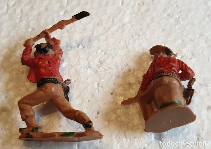 Figuras de Goma y PVC: FIGURAS Nº 61 Y 67 OESTE REAMSA - Foto 2 - 194345625