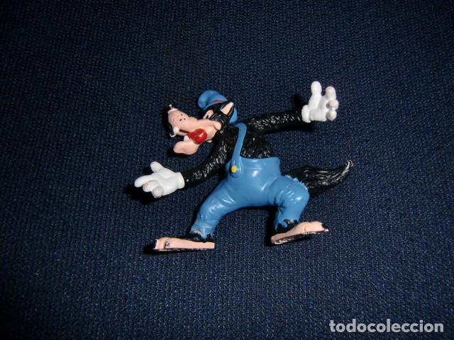 FIGURA PVC: LOBO FEROZ DE DISNEY ( BULLYLAND ) MADE IN GERMANY - LOS TRES CERDITOS (Juguetes - Figuras de Goma y Pvc - Bully)