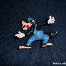 Figuras de Goma y PVC: FIGURA PVC: LOBO FEROZ DE DISNEY ( BULLYLAND ) MADE IN GERMANY - LOS TRES CERDITOS. Lote 194346090