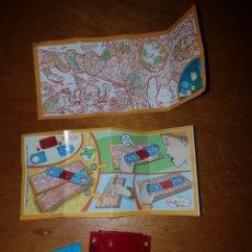 Figuras Kinder: FIGURA KINDER COLECCIÓN DETECTIVES SELVA OCULTA DC025 +BPZ NUEVO MUÑECO SORPRESA FERRERO MAGIA. Lote 194352415