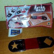Figuras Kinder: FIGURA KINDER STAR WARS DC025S +BPZ DESCUBRE FIGURAS OCULTAS NUEVO COLECCIÓN SORPRESA. Lote 194354637