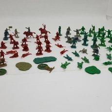 Figuras de Goma y PVC: LOTE DE SOLDADOS TIPO AIRFIX MONTAPLEX EKO. Lote 206987673