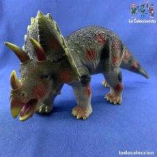 Figuras de Goma y PVC: ANIMALES - FIGURA GIGANTE TRICERATOPS - DINOSAURIO - TOY MAJOR TRADING HK - AÑO 2007- 44 CM. Lote 194373578