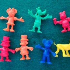 Figuras de Goma y PVC: SIETE FIGURAS DUNKIN . Lote 194406995