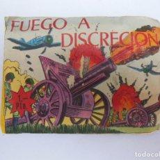 Figuras de Goma y PVC: SOBRE - FUEGO A DISCRECIÓN , MONTA-PLEX O SIMILAR, AÑOS 60 SIN ABRIR . ( VER FOTOS ADICIONAL). Lote 194507112