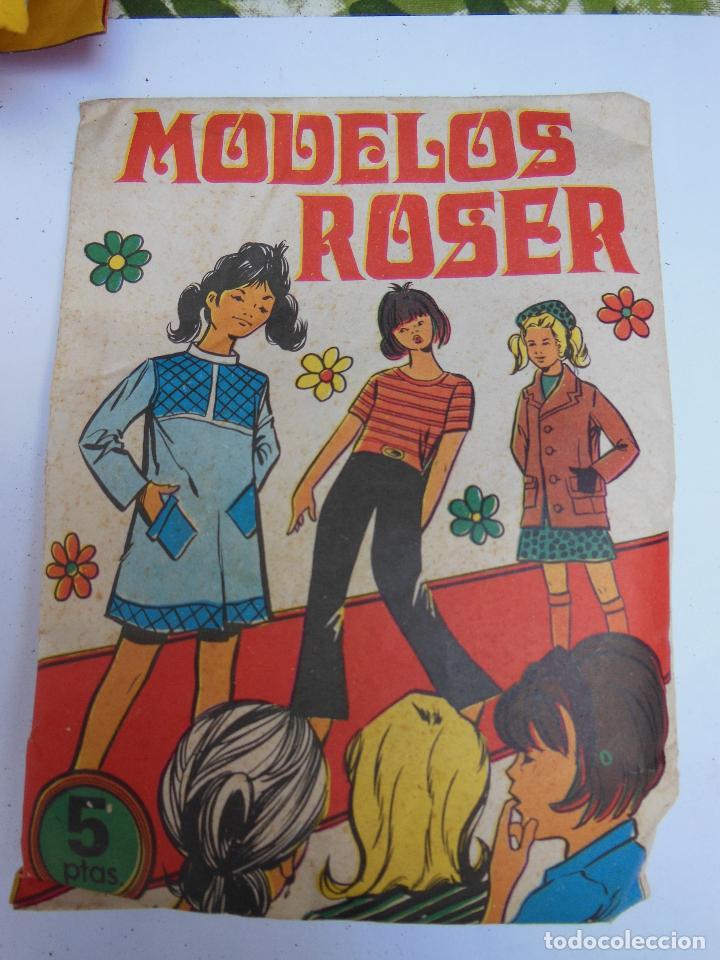 SOBRE - MODELOS ROSER , MONTA-PLEX O SIMILAR, AÑOS 60 SIN ABRIR . ( VER FOTOS ADICIONAL) (Juguetes - Figuras de Goma y Pvc - Montaplex)