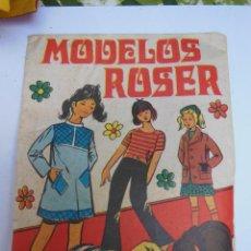 Figuras de Goma y PVC: SOBRE - MODELOS ROSER , MONTA-PLEX O SIMILAR, AÑOS 60 SIN ABRIR . ( VER FOTOS ADICIONAL). Lote 194507392