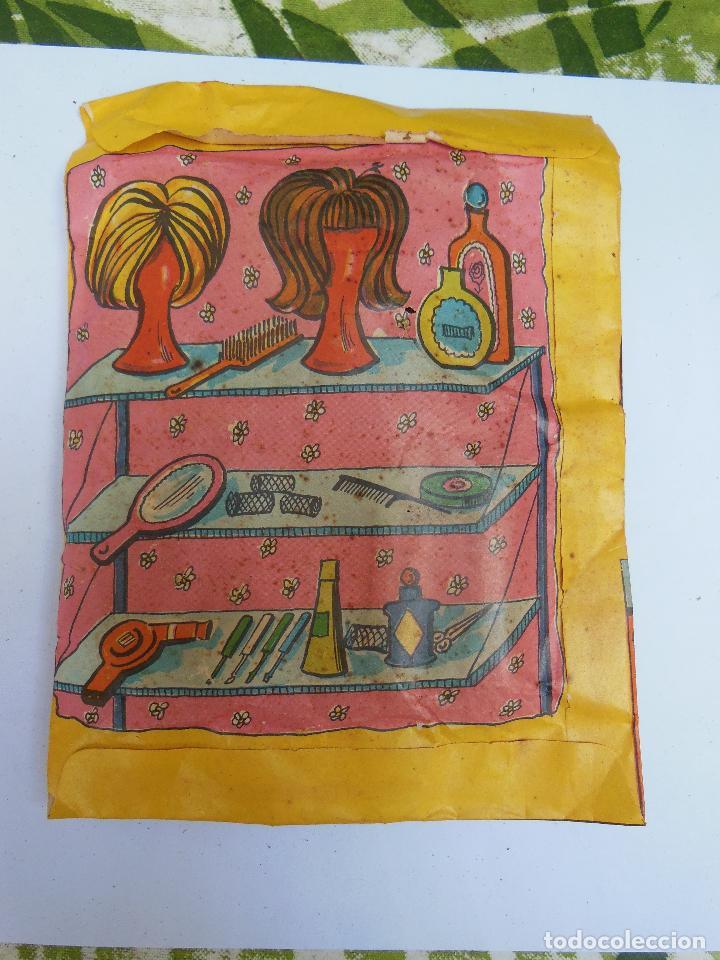 Figuras de Goma y PVC: Sobre - Salon de Belleza , Monta-Plex o similar, años 60 sin abrir . ( Ver Fotos Adicional) - Foto 2 - 194507623