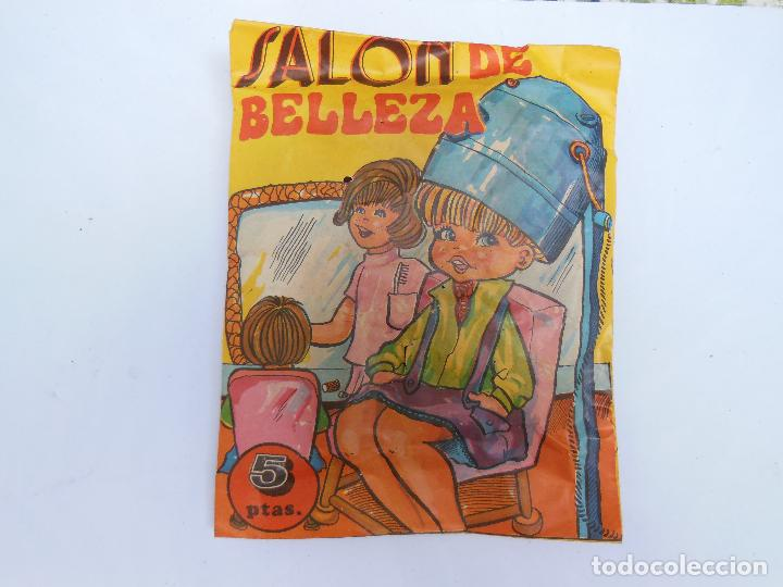 SOBRE - SALON DE BELLEZA , MONTA-PLEX O SIMILAR, AÑOS 60 SIN ABRIR . ( VER FOTOS ADICIONAL) (Juguetes - Figuras de Goma y Pvc - Montaplex)