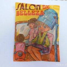 Figuras de Goma y PVC: SOBRE - SALON DE BELLEZA , MONTA-PLEX O SIMILAR, AÑOS 60 SIN ABRIR . ( VER FOTOS ADICIONAL). Lote 194507623