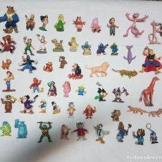 Figuras de Goma y PVC: LOTE 52 FIGURAS PVC, GOMA, PLÁSTICO BULLYLAND, YOLANDA, OTROS. Lote 194536247