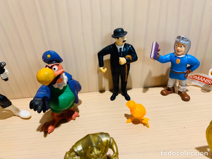Figuras de Goma y PVC: LOTE DE 10 FIGURAS VARIAS - Foto 4 - 194549236