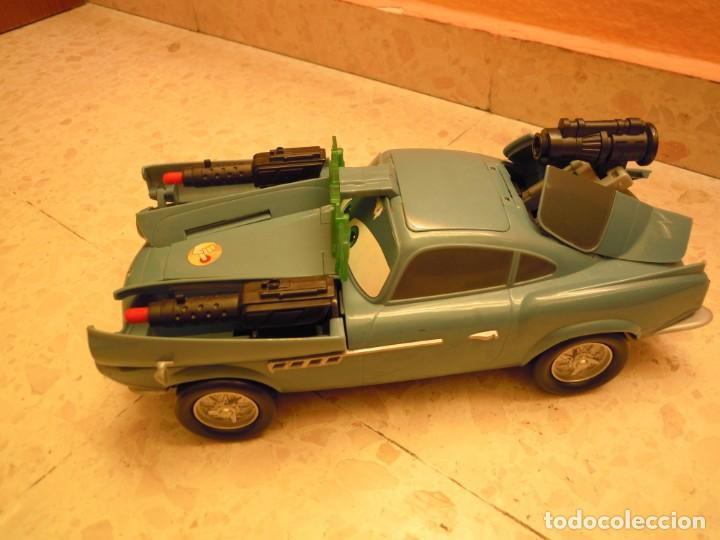Figuras de Goma y PVC: LOTE CARS DISNEY PIXAR MACK CAMION RAYO MCQUEEN, MC MISSILE SPY,COCHES GRUA MATTE... - Foto 2 - 194579685