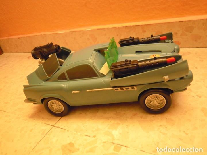 Figuras de Goma y PVC: LOTE CARS DISNEY PIXAR MACK CAMION RAYO MCQUEEN, MC MISSILE SPY,COCHES GRUA MATTE... - Foto 4 - 194579685