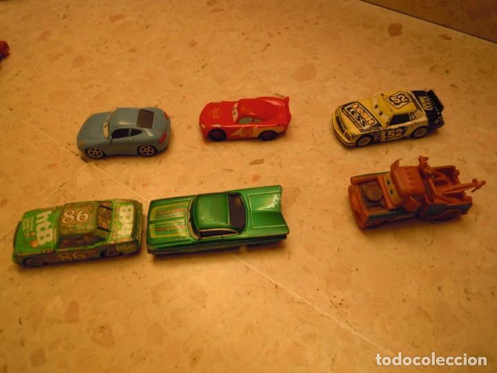 Figuras de Goma y PVC: LOTE CARS DISNEY PIXAR MACK CAMION RAYO MCQUEEN, MC MISSILE SPY,COCHES GRUA MATTE... - Foto 13 - 194579685