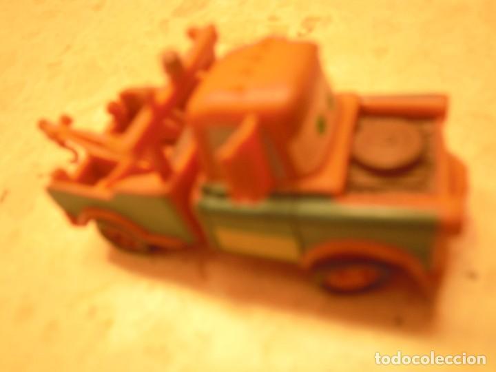 Figuras de Goma y PVC: LOTE CARS DISNEY PIXAR MACK CAMION RAYO MCQUEEN, MC MISSILE SPY,COCHES GRUA MATTE... - Foto 33 - 194579685