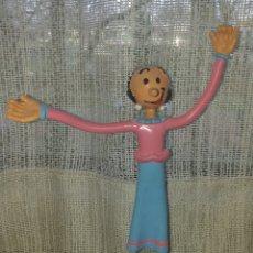 Figuras de Goma y PVC: BONITA FIGURA PVC GOMA FLEXIBLE OLIVIA (POPEYE) MARCA COMICS SPAIN. Lote 194589316