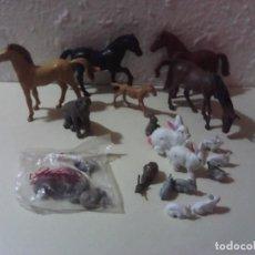 Figuras de Goma y PVC: LOTE ANIMALES AÑOS 70-80. Lote 194594508