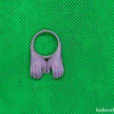 Figuras de Goma y PVC: ANILLO CON MANOS TIPO ANILLOS MATUTANO. Lote 194603603
